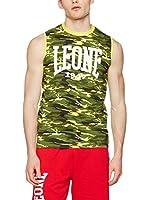 Leone 1947 Camiseta Tirantes Lsm920/S16 (CAMO-YELLOW)