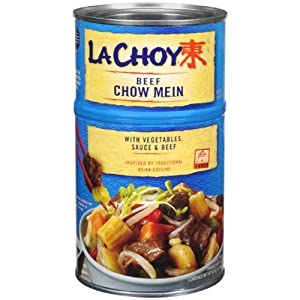 Amazon.com : La Choy, Beef Chow Mein with Vegetables, 42oz Can (Pack