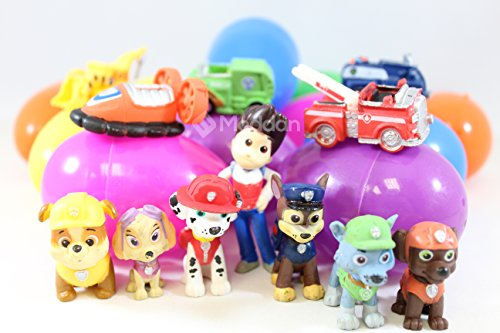 Moddan PAW Patrol Deluxe Mini Figure Toy Topper