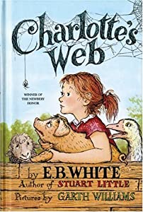 "Cover of ""Charlotte's Web (paper-over-boa..."