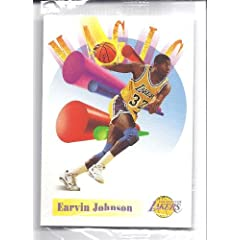 MAGIC JOHNSON 1991 Skybox Video Trading Card #NNO Los Angeles Lakers Basketball by Skybox