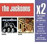 echange, troc The Jacksons - X2: Triumph / Destiny