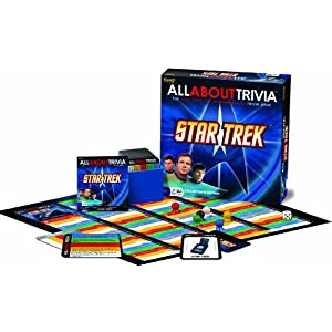 Star Trek Trivia board game