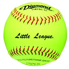 Buy Diamond Sports Optic Super Synthetic Cover Little League Softball, Dozen by Diamond Sports