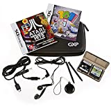 ATARI GREATEST HITS VOLUME 1 & 101 IN 1 EXPLOSIVE MEGAMIX GAME FOR NINTENDO DS / 3DS / DSi XL / DSi / DS Lite - 150 GAMES ON 2 DISCS - INCLUDES ACCESSORY TRAVEL PACK WITH STORAGE CASE, EARPHONES, 2 X EXTENDABLE SYLUS, USB CHARGING CABLE & SCREEN CLEANER