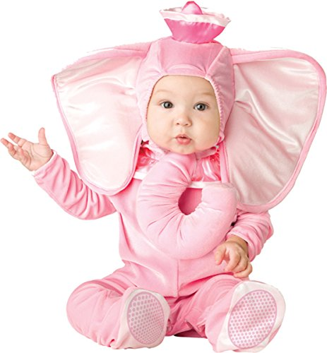 Lil Characters Toddler Trunk Hat Bodysuit Elephant Costume