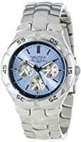 Nautica Men's N10075 Metal Round Multifunction Watch by Nautica