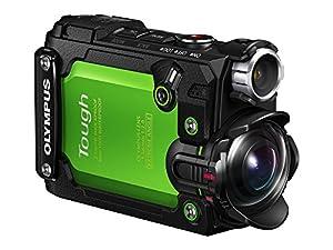 "Olympus 8 Waterproof TG-Tracker Digital with 1.5"" LCD, Black (V104180BU000)"