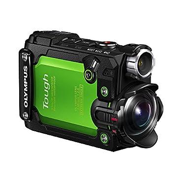 Olympus Stylus TG-Tracker 4K Action Cam Waterproof / Shockproof Camera (Green)