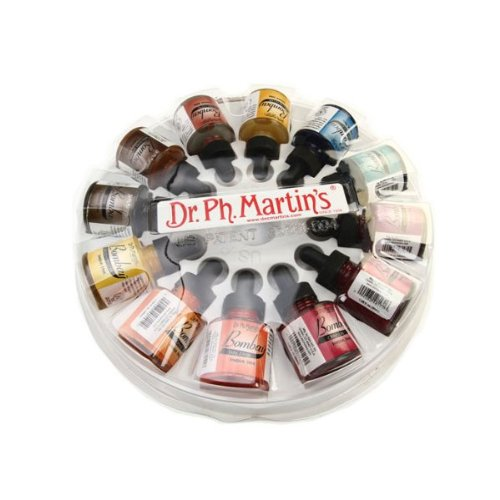 Dr. Ph. Martin'S Bombay India Ink Sets 1/2 Oz. Set 2