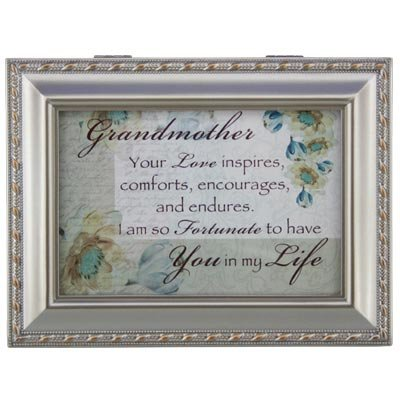 Grandmother Music Box - Grandma Gift - Holds Jewelry or Gift Cards - 1