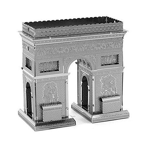 katito DIY models building Metallic Nano 3D Educational Puzzles(Arc De Triomphe) zoyo diy educational 3d laser cut model farm tractor style metallic nano puzzles silver