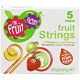 Fruit Factory Strawberry, Apple and Orange Fruit Strings 100 g (Pack of 5)