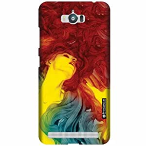 Printland Designer Back Cover For Asus Zenfone Max ZC550KL - Glam Cases Cover