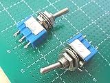 トグルスイッチ 1回路2接点<2個入><swp-088>