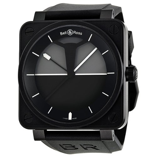Bell and Ross Horizon Automatic Black and Grey Dial Mens Watch BR0192-HORIZON