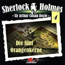 Die fünf Orangenkerne (Sherlock Holmes 4) Hörspiel von Sir Arthur Conan Doyle Gesprochen von: Christian Rode, Peter Groeger