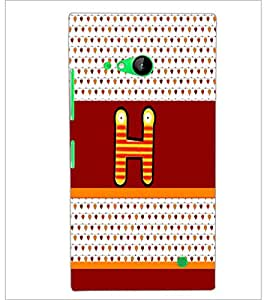 PrintDhaba GRANDbet H D-5819 Back Case Cover for NOKIA LUMIA 730 (Multi-Coloured)