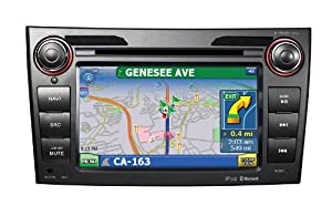 """Factory Fit"" In-Dash Navigation & Multimedia System with 7"" High Res TFT/LCD Touch Screen Display for Toyota Corolla"
