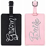 Just Married Luggage Tags