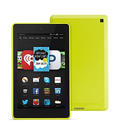 "Fire HD 6, 6"" HD Display, Wi-Fi, 16 GB, Citron"