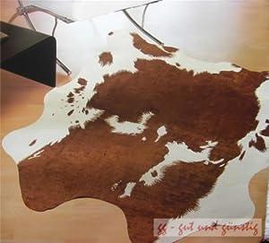 teppich kuhfell optick tierfellimitat teppich ca. Black Bedroom Furniture Sets. Home Design Ideas