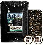 Black Knight Dark Roast OFT, Whole bean coffee, Fresh Roasted Coffee LLC. (5 lb.)