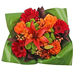 4 Beautiful Hot Mix Boquets