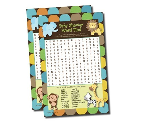boy jungle baby shower games baby shower mania