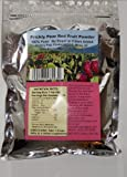 Prickly Pear Red Fruit Powder: 1-Pack (A Nopal Cactus Fruit Dehydrated Powder) 1 Resealable Mylar Bag has a 38 day supply with 2 teaspoons daily dosage. (Net Weight 10.5 ounces.)