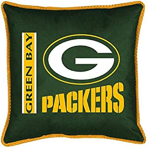 Sports Coverage Green Bay Packers Sideline Pillow