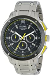 Pulsar Men's PT3393 Analog Display Japanese Quartz Silver Watch