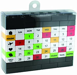 Made By Humans Perpetual Puzzle Desk Calendar