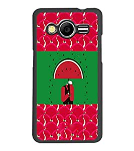 PrintDhaba Funny Image D-3770 Back Case Cover for SAMSUNG GALAXY CORE 2 G355H (Multi-Coloured)