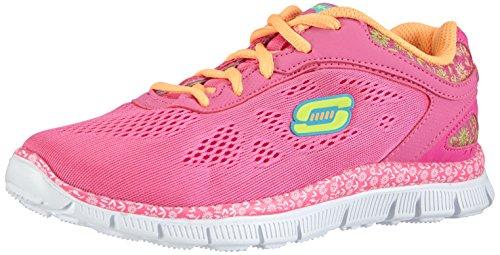 Skechers Girls Skech AppealIsland Style Low-Top Trainer Pink Pink (NPOR) 1.5 UK (34 EU)