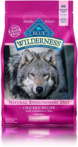 Blue Buffalo Wilderness Adult Small Breed Chicken Formula - Grain Free 4.5 lb