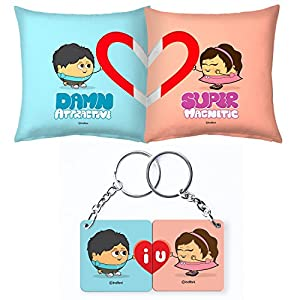 Buy Perfect Valentines Gift For Him Set Of Cushion Pair