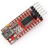 Mihappy 3.3v 5.5v Ft232rl Ftdi Usb to Ttl Serial Adapter Module for Arduino Mini Port