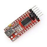ZPS(TM) 3.3v 5.5v Ft232rl Ftdi Usb to Ttl Serial Adapter Module for Arduino Mini Port