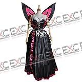 アクセル・ワールド 黒雪姫 学内アバター 風 コスプレ衣装・男性LLサイズ