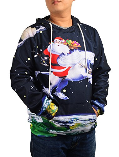 Ugly Christmas Santa Sweater