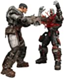 Gears of War 2 NECA Action Figure 2-Pack Chainsaw Marcus and Locust