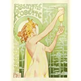 Absinthe Robette, by Privat Livemont (V&A Custom Print)
