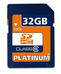 Platinum - Tarjeta SDHC de 32 GB