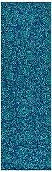Chandni Women's Cotton Unstitched Kurta Material (Blue)