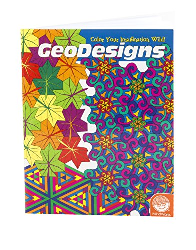 Mind Ware Geodesigns Coloring Book