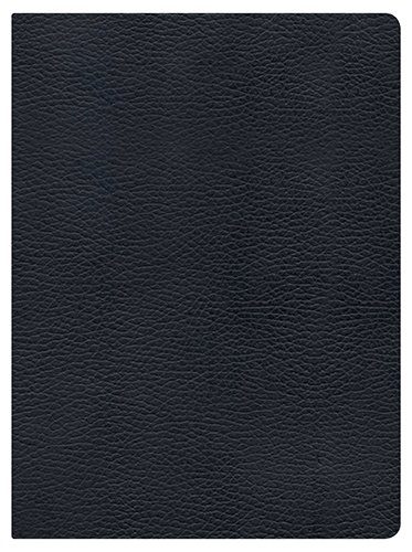 Holman Study Bible: NKJV Edition, Black Genuine Leather Indexed