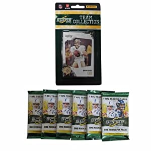 NFL New Orleans Saints 2010 Score Team Set with Six Score Football Packs by Panini