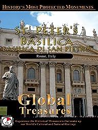 Global Treasures - BASILICA OF ST PETER - Rome, Italy