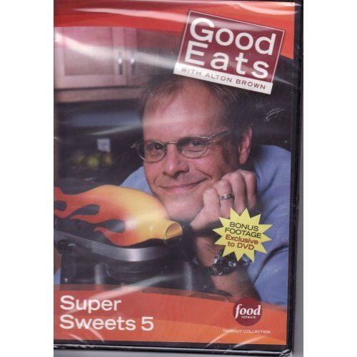 Food Network Takeout Collection DVD - Good Eats With Alton Brown - Super Sweets 5 - Includes BONUS FOOTAGE Plus: I Pie / Circle Of Life / The Cookie Clause